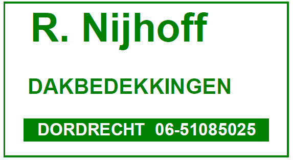 R Nijhoff Dakbedekkingen